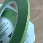 3M Scotch® Fine Line Tape 218 Green 1/4 inch width 3mm